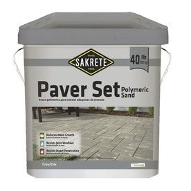 Sakrete 40 lb Gray Polymeric Jointing and Polymeric Sand