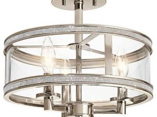 semi flush mount ceiling fixture