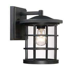 Quoizel Asheville 9 6875 in H Dark Oil Rubbed Bronze Outdoor Wall light