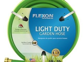 FlEXON 5 8 in x 50 ft light Duty Vinyl Green Hose