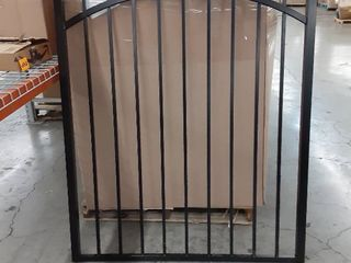 Black Aluminum fence panel 45 x 60