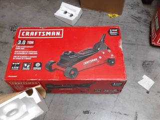 CRAFTSMAN Craftsman 3 Ton Garage Jack Item  2128313Model  T83000F retail 149 00