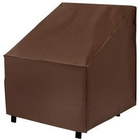 elemental Dark Brown Conversation Chair Cover