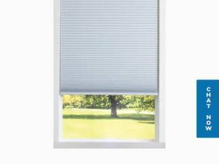 30 5 in x 64 in White Blackout Cordless Cellular Shade