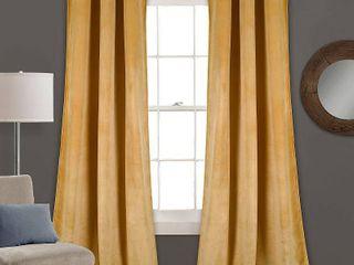 Prima Velvet 38  x 84  Curtain Set