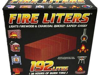 Fire liters Fire log liter 192 Pack