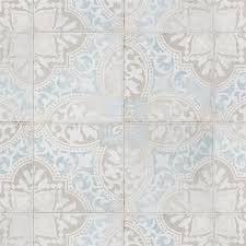 SomerTile 5 75 x 5 75 Inch Barcelona Decor Montjuic Porcelain Floor and Wall Tile  44 Tiles 10 77 sqft  Retail 134 60