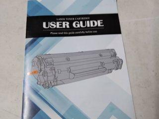 laser toner cartridge set of 2