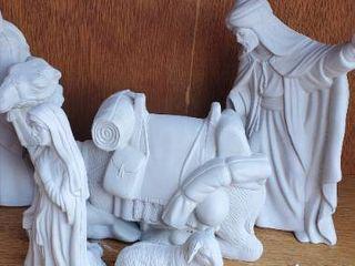 Nativity Scene Bisqueware