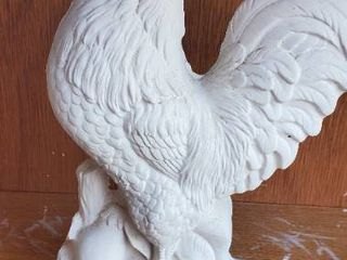 Rooster Bisqueware