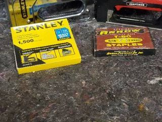 Stanley Heavy Duty and Craftsman Stapler with T50 staples