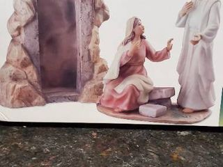 Porcelain Sculpture of Jesus at the Tomb