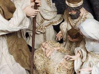 large Nativity Scene Dolls