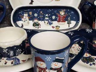 Christmas Platterware
