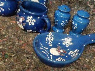 Miscellaneous Snowman Ceramics