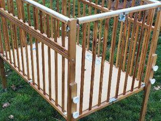 Nu line Folding Crib