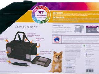 TrustyPup Dog Travel Carrier  Black  Small  11 l