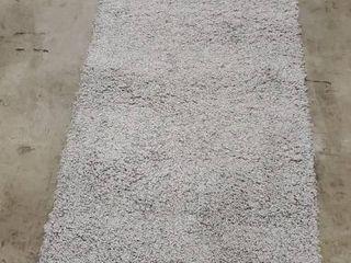 nulOOM Moroccan Blythe Runner Rug  2  8  x 8  Grey Off white