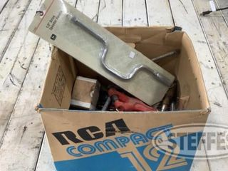 Box of Assorted Wrenches Various Tools 0 jpg