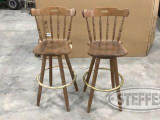 2 Hightop Barstools 0 jpg