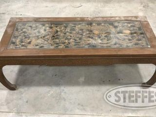 Oriental Wooden Coffee Table 0 jpg