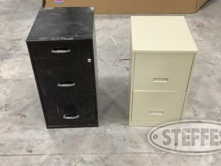 2 Metal Filing Cabinets 0 jpg