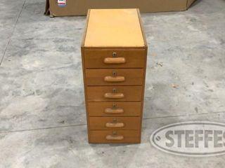 Wooden lockable drawer 0 jpg