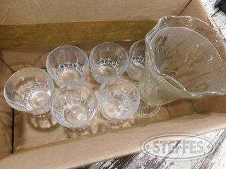 Box of 6 Drining Glasses Vases 1 jpg