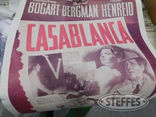 Casablanca Movie Poster Corkcage Cigar Box 1 jpg