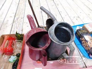 Assorted Oil Filler Cans 1 jpg