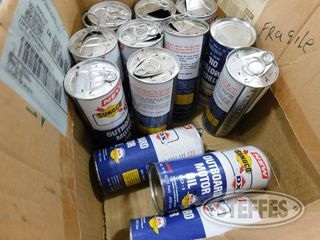 13 Empty Sunoco Oil Cans 1 jpg