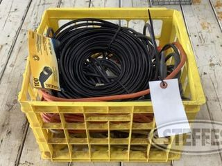 Crate of Assorted Extension Cords 0 jpg