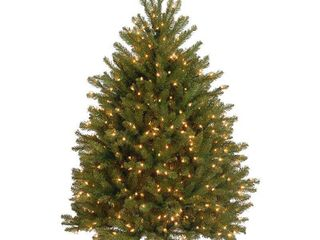 4 ft  Dunhill Fir Tree with Clear lights