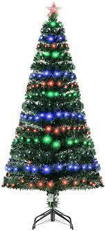 HomCom 6ft Christmas Tree
