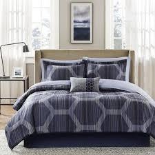 Carson Carrington Stockholm Blue Comforter and Cotton Sheet Set  Full Size Retail 84 98