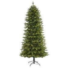 National Tree 6 5ft Pennington Fir Hinged Pencil Tree with 250 Clear lights