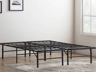 lUCID Comfort Collection Platform Bed Frame   King   Retail 171 99