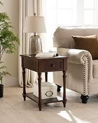 Regency Side Table with Charging Station