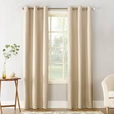 Sun Zero Cooper Thermal Insulated Room Darkening Grommet Curtain Panels