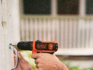 Black   Decker 12v Drill  Tested works