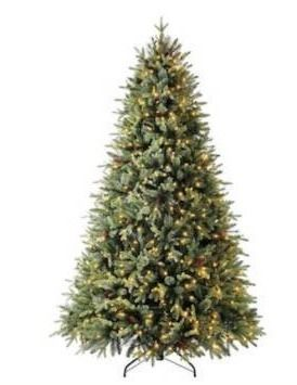 Holiday living pre lit Haven pine tree 7 5 foot  lights don t work