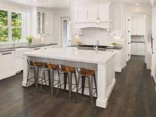 Pergo timbercraft   wetprotect waterproof Gatehouse oak 7 48 in W x 54 33 in l embossed wood plank laminate flooring