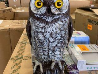 Plastic owl  beak is broken off
