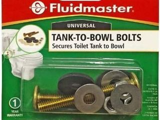 Fluid Master tank to bowl bolts