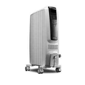 De longhi Oil Filled Tower Electric Space Heater with Thermostat