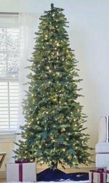 GE 7 5 ft prelit lED aspen fir   multi or warm lights  lights work