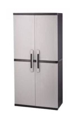 Keter extra large utility cabinet 35 in x 18 in x 71 in
