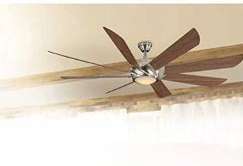 Harbor Breeze hydra brushed nickel finish ceiling fan 70 inch