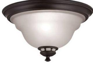 Project source flush mount ceiling light   dark oil rubbed bronze