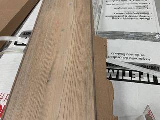 7 pieces of vinyl plank flooring